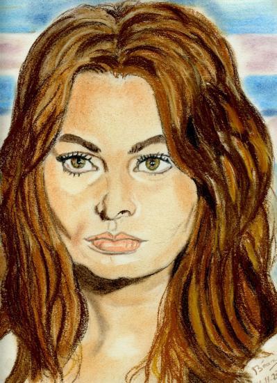 Sophia Loren by Bea